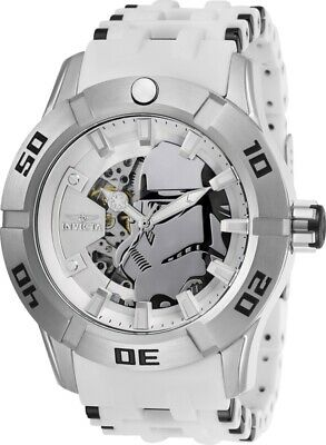 Invicta 26554 Star Wars Automatic Men's 50mm Stainless Steel Silver Dial Watch