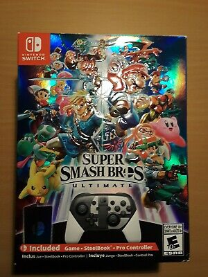 Super Smash Bros. Ultimate Special Edition for Nintendo Switch Brand New Sealed