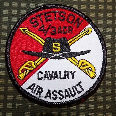 US Army S (Attack) Troop, 4th Squadron, 3rd Armored Cavalry Regiment Patch