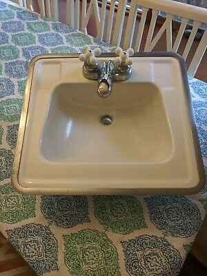 American Standard Bathroom Sink Vanity Antique Classic 1934 Porcelain Vintage