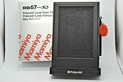 [MINT in Box] Mamiya RB67 Polaroid Film Back Holder for RB67 PRO S SD From Japan