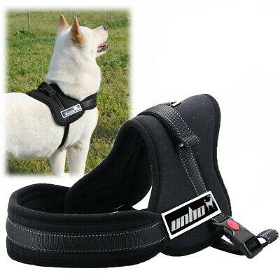 For Husky Pitbull Tough Sled Pulling Padded Large Dog Harness Collar Extra Large