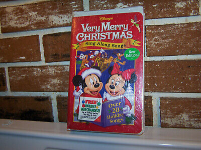 Disney Sing Along Songs Very Merry Christmas Songs 2002.Sing Along Songs Very Merry Christmas Songs Vhs 2002