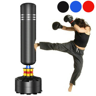 5.75ft Boxing Free Standing Punch Bag Stand MMA Martial Arts Punching Training