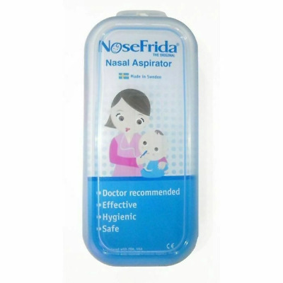 NoseFrida - Nasal Aspirator Effective & Hygienic Relieve Nose Baby Snot Colds