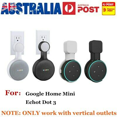 Mini Wall Mount Holder For Google Home Space-Saving for Smart Home Speakers Z0