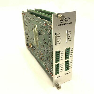 Delta Tau UMAC TURBO 2-Axis Analog ASSY 603398-105 4-Axis Interface
