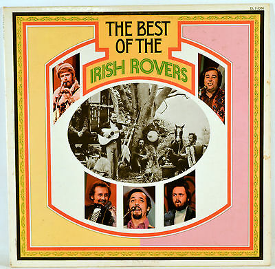 Album Vinyl The Best of the Irish Rovers 1972 Decca DL 7-5386