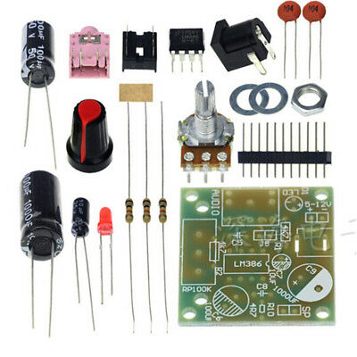 1 Set LM386 Super MINI Scheda amplificatore 3V-12V Kit fai da te JP