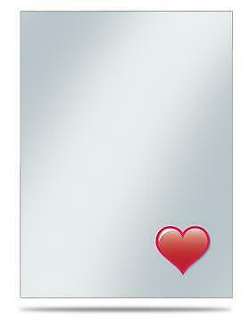 Ultra Pro Emoji: Heart Standard Sleeve Covers (50 ct) (100 Count Case)
