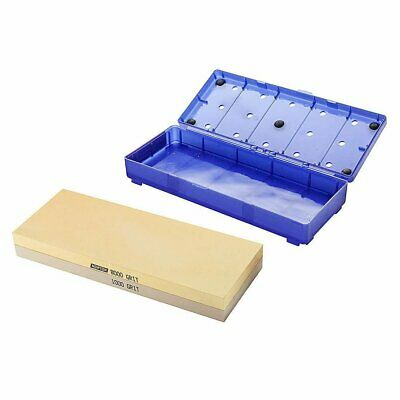 "Norton 8000/1000 grit combination Waterstone - 8"" x 3"""