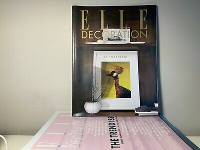 2016 Annual Collection of ELLE DECORATION Magazine | 9 Issue Bundle |