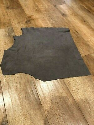 Italian Soft Suede Piece Skins Nappa Hide Art Craft Sewing Textile Project