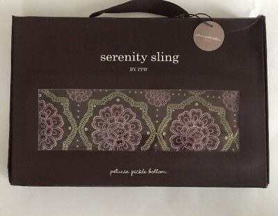 Petunia Pickle Bottom Serenity Sling New In Box Size L