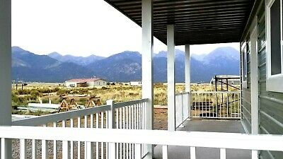 Colorado Land with NEW beautiful house! Million dollar views & all utilities!