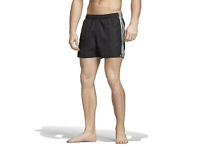 Short Costume Mare Piscina Uomo Adidas Estate Cv5137  3S Sh Vsl Black/White