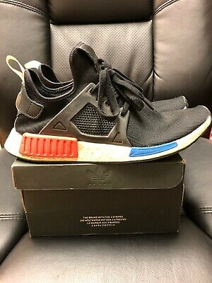 adidas Originals NMD Xr1 PK Primeknit Black Limited Mens SNEAKERS S77195 12.5