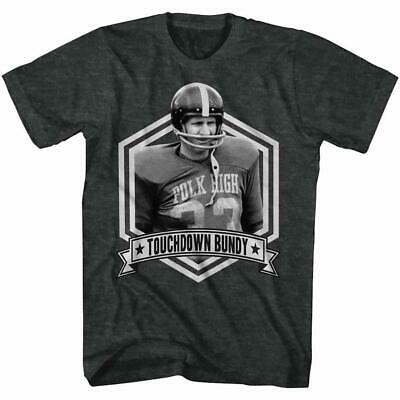 Married  With Children Touchdown Bundy Tv Show Al Bundy Humor Tee Charcoal