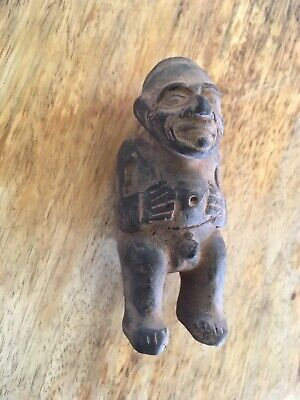 Pre Columbian Pottery Male Fetish Figure