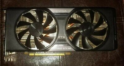 EVGA gtx 760 FTW 4GB FOR PARTS/NOT WORKING 04G-P4-3768-KR