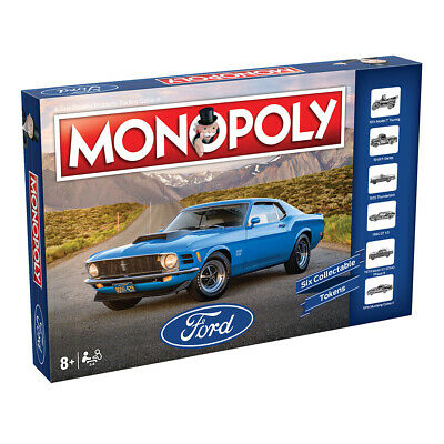 Monopoly Ford Board Game NEW
