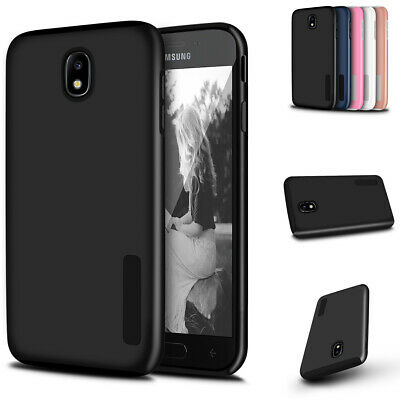For Samsung Galaxy J3 2018 / J3 V / Sol 3 Heavy Duty Dual Layer Shockproof Case
