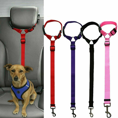 Pet Car Seat Safety Belt Seatbelt Harness Lead Restraint for Dog Pet in Vehicle