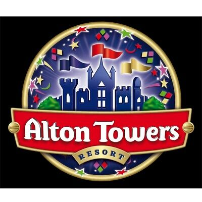 2 x Alton Towers tickets  Friday 27th September 2019