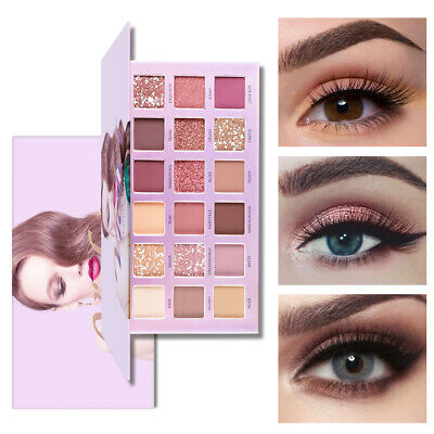 FREEORR Brand Eyeshadow Palette Matte Glitter Makeup Shimmer Eye Shadow Cosmetic