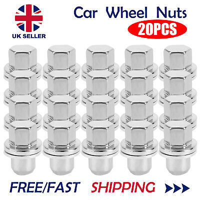 20x STAINLESS ALLOY wheel nuts 22.5mm shank for RANGE ROVER L322 SPORT