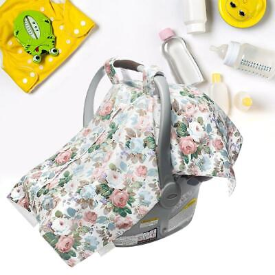 3 in 1 Baby Infant Seat Cover Cotton Nursing Breastfeeding Cover Apron