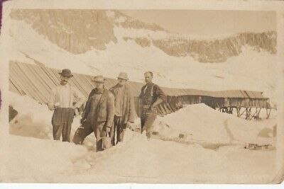 RP, SMUGGLER , (SW)Colorado, 1909 ; Miners at gold mine (Now Ghost Town)