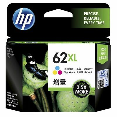 HP 62XL Colour C2P07AA Ink Cartridge 5540 5542 5640 7640 5740 8040 Free Postage