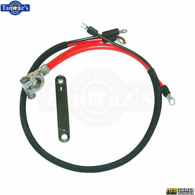 68-70 Mopar B-Body Positive Terminal Battery Cable Harness Starter Wire Loom