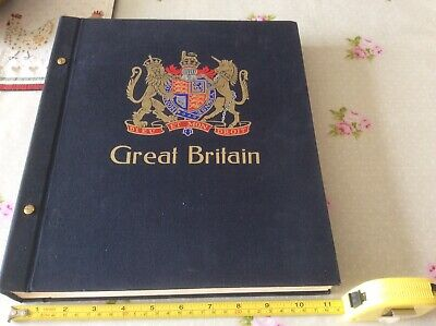 Stanley Gibbons Davo Gb Album Vol1 1840/1983 Over 1000 Stamps See Description