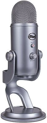 Blue Microphones Yeti USB Microphone, Space Grey Mic Only
