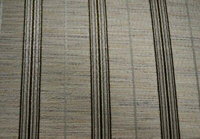 Hexham Birch Grey Black Silver Striped Swavelle Mill Creek Fabric