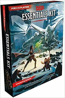 Dungeons & Dragons Essentials Kit (D&D Boxed Set) Game –  2019