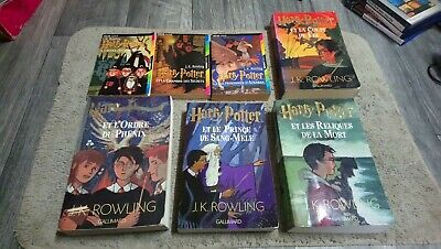 Integrale Harry Potter 7 Livres Gallimard Folio Jk Rowling