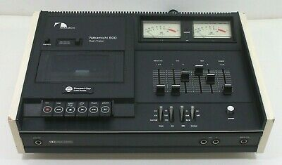 Nakamichi 500 Dual Tracer Casette Deck (Made in Japan) - TESTED