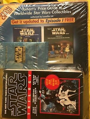 Star Wars Triology Book Tomart's Price Guide to Worldwide Star Wars Collectable