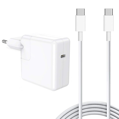 USB Type C Power Adapter Adaptateur Chargeur pour Apple Macbook IPAD 2018 30W