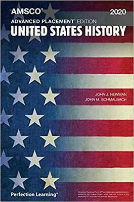 Advanced Placement United States History, 2020 Edition NEW Paperback