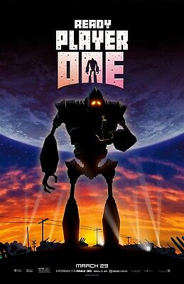 THE IRON GIANT MOVIE Canvas Poster 8x11 24x32 inch