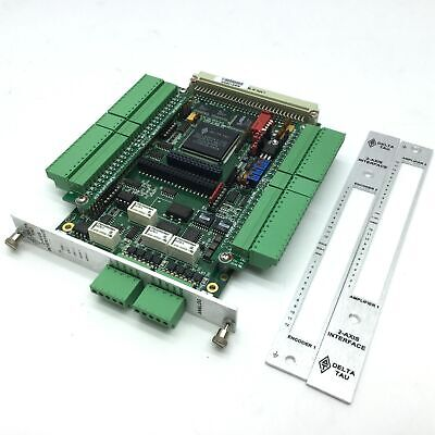 Delta Tau 603398-105 UMAC TURBO 2-Axis Analog ASSY