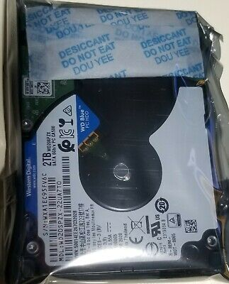 "New Western Digital WD WD20SPZX 2.5"" 2TB SATA III 6Gb/s 7mm 128M Thin Hard Drive"