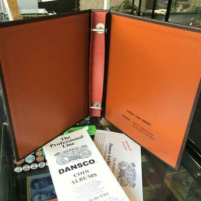 "Brand New! DANSCO Supreme Coin Album Blank Empty Binder 1 1/8"" Fits 6-7 Pages"