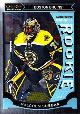 2015-16 O-Pee-Chee Platinum Marquee Rookies #5 Malcolm Subban