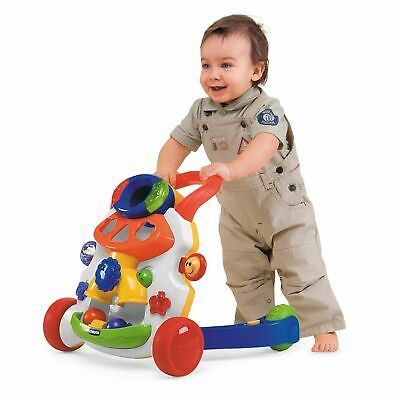 Chicco Baby Steps Interactive Activity Walker - White.