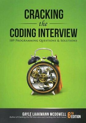 Cracking the Coding Interview, 6th Edition: 189, McDowell..